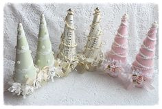Shabby chic and unique all year long Christmas trees!