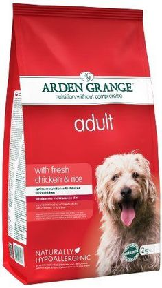 2kg Dog Food Chicken Pet Feeding Supplies Kibble Adult Treat Rice Dry Natural
