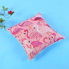 Linen Vintage Flamingo Pillow Cover - Rose Pink – Flamingolandia