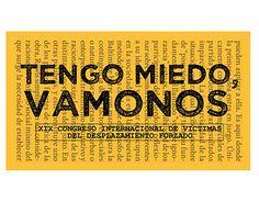 """Check out new work on my @Behance portfolio: """"Tengo miedo, vamonos"""" http://be.net/gallery/46788539/Tengo-miedo-vamonos"""