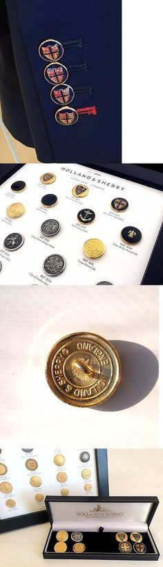 Buttons 7320: 9 Ct Gold Navy Red Four Lions Holland And Sherry Blazer Buttons Gift For Men -> BUY IT NOW ONLY: $179 on eBay!