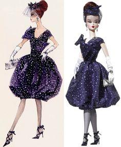 parisienne pretty barbie robert best collage