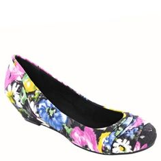 floral flats for girls