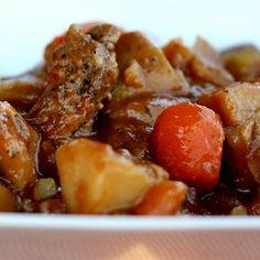 Guinness Beef Stew--crockpot (the sweets life)