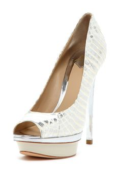 B Brian Atwood Florencia Peep Toe Pump, this too must be in my soul...
