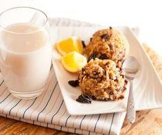 ŠVESTKOVO - POMERANČOVÝ BULGUR Glass Of Milk, Panna Cotta, Snacks, Breakfast, Ethnic Recipes, Fitness, Cupcakes, Food, Bulgur