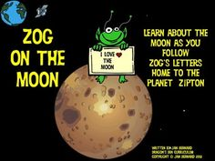 Make learning about phases of the moon fun and easy with these letters written by Zog, the alien, back to his people on Zipton. As Zog writes he explains all about the phases of the moon. You see, Zipton doesn't have a moon, so this is all very new to Zog! $