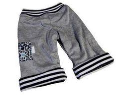 Reversible Knit Baby Pants