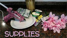 DIY Flower Pens - dollar tree supplies!