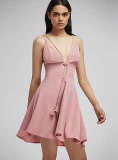 Finders Keepers Addison Dress – Rose