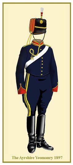 British; Ayrshire Yeomanry 1897