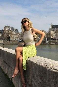 I Dressed Like a French Girl for a Week—Here's What I Thought Parisian Summer, Dress Like A Parisian, Parisian Chic Style, French Summer, Paris Outfits, Chic Outfits, Summer Outfits, Fashion Outfits, French Fashion
