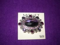 $11.99 New Monet Butterfly Brooche in Purple and pink stones and silver metal with the superior Monet finish. Priced at $24.00 I am selling this amazing piece of jewelry for $11.99 with Free Shipping!  it features beautiful crystals and is modeled ... $11.99