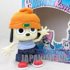 Parappa The Rapper Parappa Collectible Doll Figure Medicom Toy JAPAN GAME ANIME #MediComToy