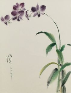 Orchids by Zhang Jie.