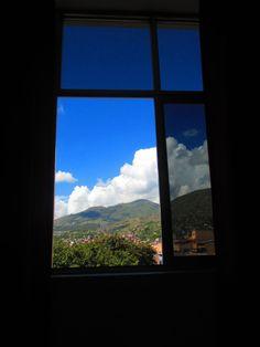 Y así era la vista de mi habitación en Ayacucho-Perú.