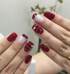 Gel Uv Nails, Manicure E Pedicure, Pretty Nails, Nail Art, Valentines, Beauty, Diana, Zero, Art Ideas