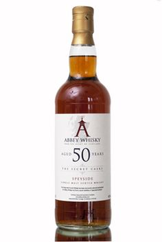 Abbey Whisky 50 Year Old Speyside. Someone turning 50 deserves a really special present. This is it. £249.00