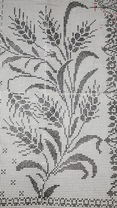 Cross Stitch Flowers, Filet Crochet, Cross Stitch, Cross Stitch Pictures, Drive Way, Dots, Hardanger Embroidery, Cross Stitch Patterns, Ceilings
