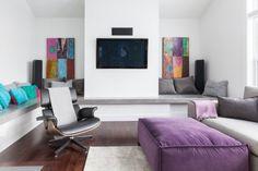 Diseño de interiores Violeta
