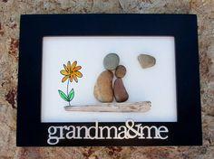 Pebble Art  Rock Art  Grandma  Family  Grandchildren