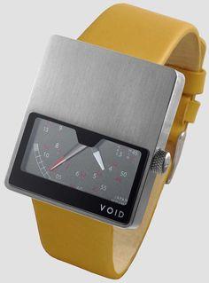 Void V02 Retrograde Brushed Mustard