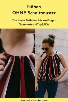 Best sewing idea for beginners Sewing Stitches, Sewing Patterns, Sewing Ideas, Learn To Sew, How To Make, How To Wear, Sewing Courses, Diy Kleidung, Beautiful Soup