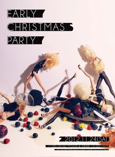 AD:Yuni Yoshida Art Director, Xmas, Christmas, Creative Art, Fashion Photography, Advertising, Printing, Japanese, Poses