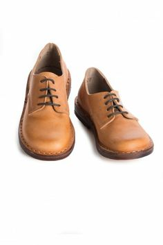 Cognac Saddle Shoes