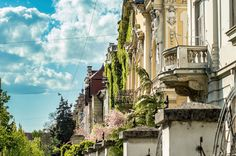https://flic.kr/p/G8VfSE | Secession Avenue | A row of secession style houses built around 1906 in Osijek, Croatia.