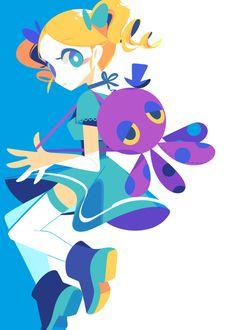 Buttercup - The Powerpuff Girls Z -Anime version. Adventure Time Anime, Anime Chibi, Anime Art, Buttercup Powerpuff Girl, Art Pastel, Desenhos Cartoon Network, Super Nana, Character Art, Character Design