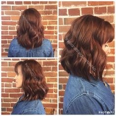 We loved giving you a new look, Julie!  Make a reservation today for your own sultry red color with Alison at 816-605-1949 or visit http://www.theglamroomkc.com,  #HairByAlisonDecuir #TheGlamRoomKC #majirouge