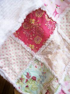 rag quilt inspiration for Aspens toddler bed