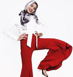 """#WCW: """"My hero is my grandma Eman Mourad because she accomplished so much in her lifetime...She was one of the first to wear hijab (head scarf) in a time where no one was wearing it or supporting her. That really shows her strength."""" Just one of the cool facts about our cover star and #Muse @nohahamid  Read her full interview  view new photos wp.me/p74FeV-1jX  @war3.photography . . . . . . #potd #photography #photooftheday #editorial #flash #fotd #motd #lotd #ootd #designer #style #magazine…"""
