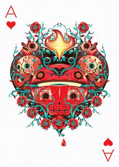 Ace of Hearts by Mr. Kone
