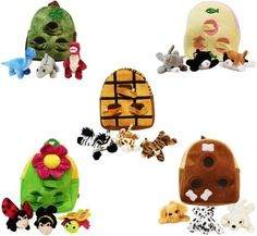 Plush Backpack - Happy Go Baby Price    14.95  http   www.metrofulfillmenthouse 7ed40dadfd0