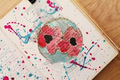@kahlert | Pollock & Poppies | Season of Words | Get Messy Art Journal