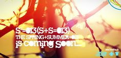 Spring + Summer is coming Soon…