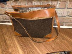 Hartmann Luggage Tweed Leather Vintage Satchel Carry On Luggage | eBay Carry On Luggage, Canvas Leather, Tweed, Satchel, The Unit, Ebay, Vintage, Carry On Bag, Vintage Comics