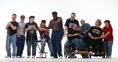 FLAME, a group from upstate New York made up of 11 people with developmental/physical disabilities, including autism, Down's syndrome, mental retardation and blindness, is capturing the world's attention but their message remains the same.
