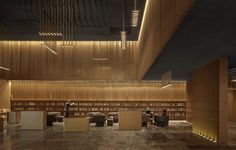 SHANGYING CINEMA - One Plus Partnership Hall Interior Design, Epic Film, Library Room, Suzhou, Dezeen, World Trade, Creative Inspiration, Modern Architecture, Cinema