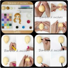 Bambola di zucchero, Anna tutorial part 1