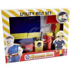 Target Fireman Sam Utility Belt Set  ITEM CODE 51150211  $31.20 Fireman Sam, Target, Coding, Belt, Belts, Target Audience, Programming, Goals