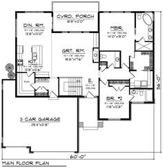 Workshop plans with porch garage shop plans new how to get building plans for my house . workshop plans with porch garage Pole Barn House Plans, House Plans One Story, Pole Barn Homes, Shop House Plans, New House Plans, Dream House Plans, Small House Plans, House Floor Plans, Pole House