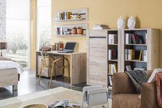 Modesto detská izba / Modesto children's room (San remo sand) Bookcase, Shelves, News, Room, Home Decor, Bedroom, Shelving, Decoration Home, Rum