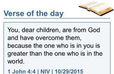 I John 4:4