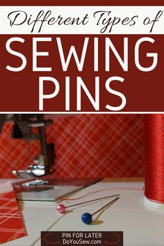 When I first started sewing, I knew I needed sewing pins. So, I walked into a sewing shop only to find out that there were so many different kinds! Seriously? They were not all the same, so how to choose a proper kind? I decided to buy the prettiest kind assuming that it can't be a big deal. Oh boy, was I wrong! #sewingbeginner #starttosew #learntosew #doyousew #sewingtips #sewingforbeginners #sewing101 #howtosew