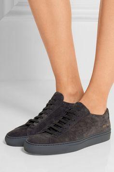 official photos d6bb4 e10d5 Common Projects - Original Achilles suede sneakers