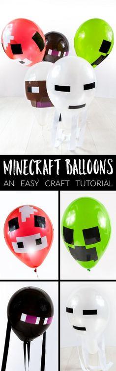 Minecraft Balloon Craft Tutorial