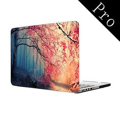 "Pink Autumn Forest Design Full-Body Protective Plastic Case for MacBook Pro 13""/15"" (Non-Retina) – USD $ 25.99"